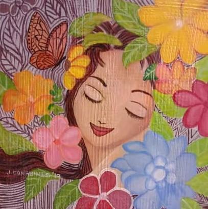 Flowerlady 2