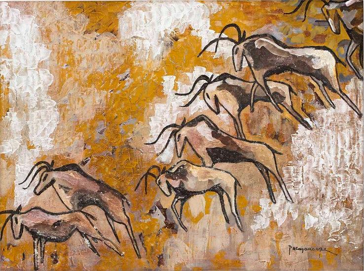 "Cattle Herd - Francisco ""Paco"" Gorospe"