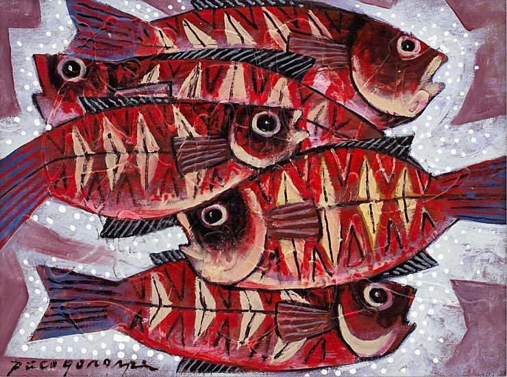 """Fishes II - Francisco """"Paco"""" Gorospe"""