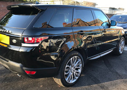 Range Rover Sport Coated with Absolute Show Off Pressure Point