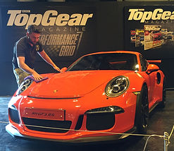 Porsche GT3RS Top Gear