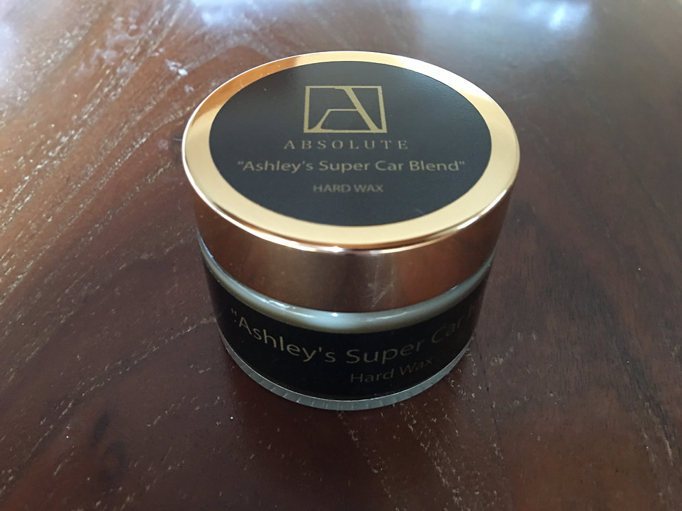 Ashleys Super Car Hard Wax 50ml