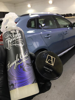 volvo show off and auto finesse