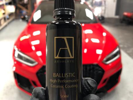 Our Ballistic #Ceramic coating.