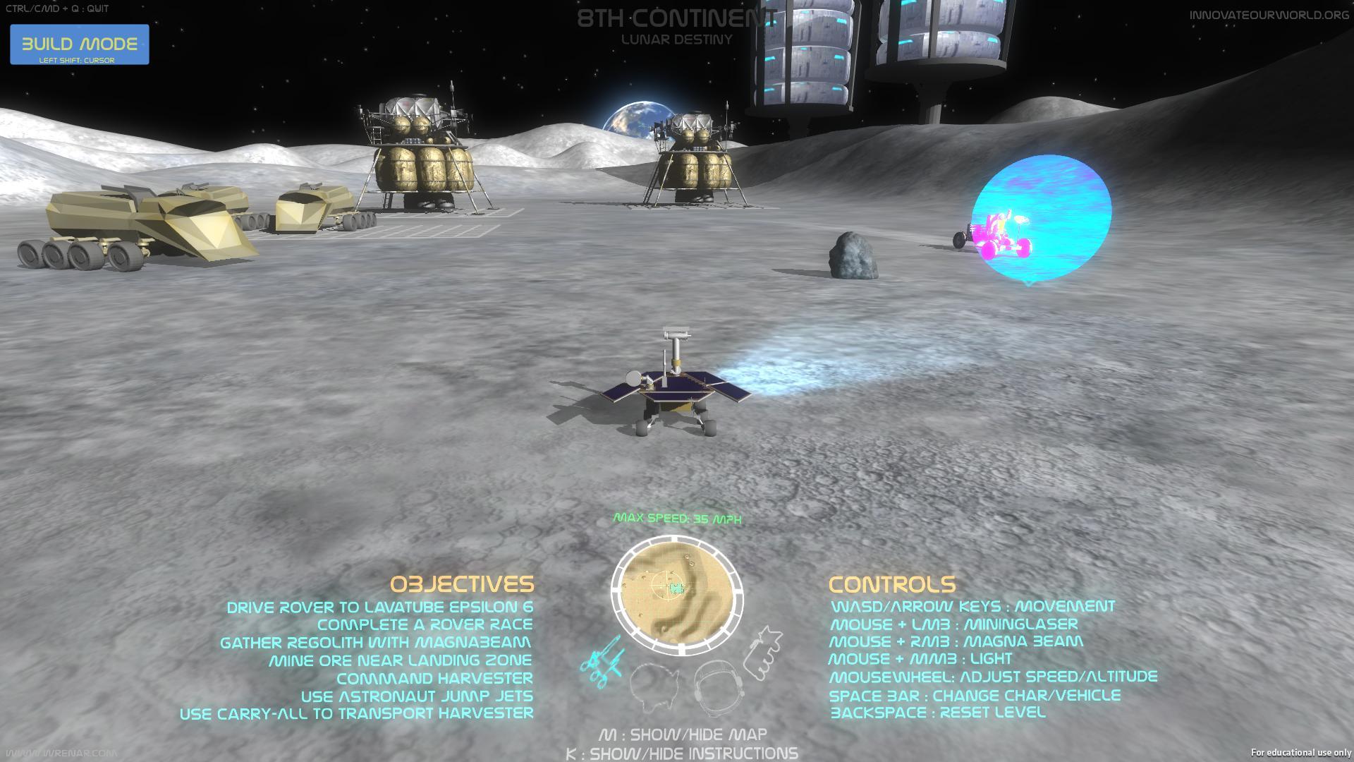 Lunar Destiny (2014-15)