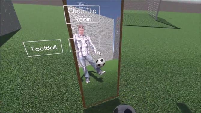 VR Soccer Prototype