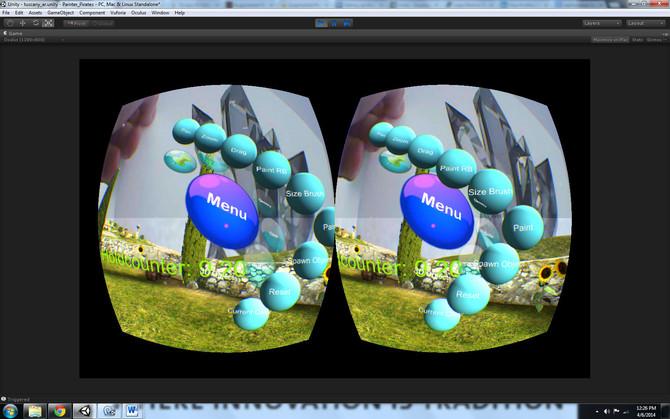 Rift Experiment #2: Binocular Vision