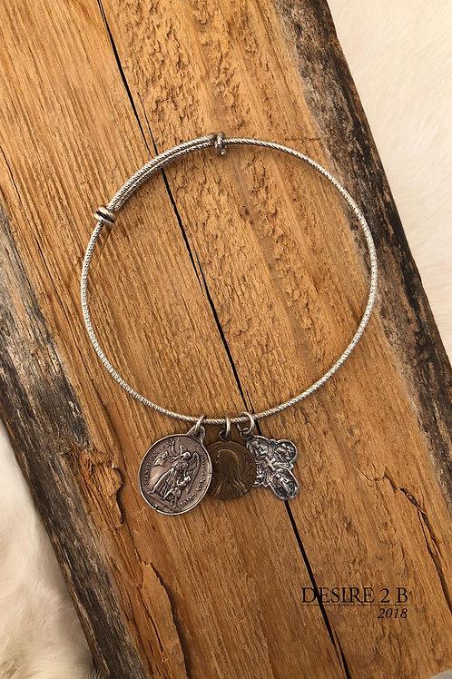3-Charm Bracelet #7