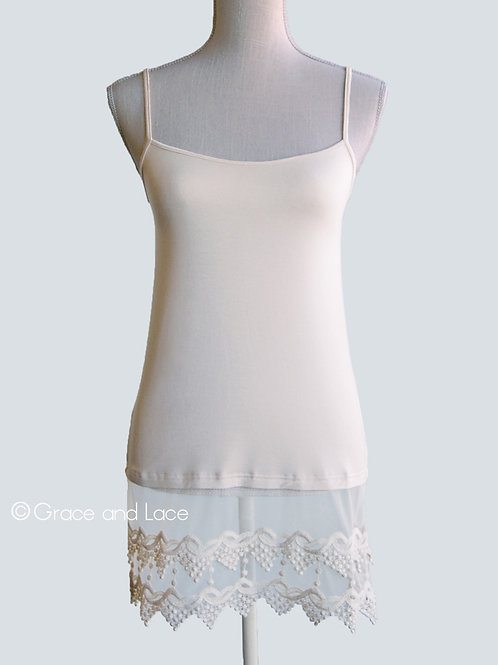 Grace & Lace Pointed Top Extender (Ivory)