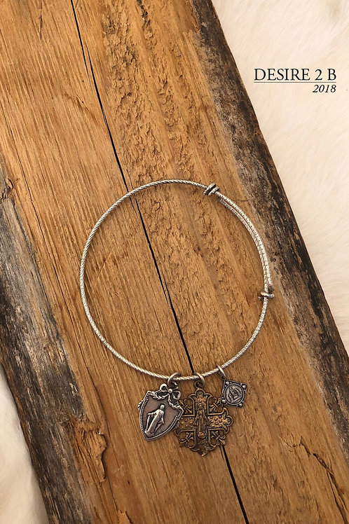 3-Charm Bracelet #4