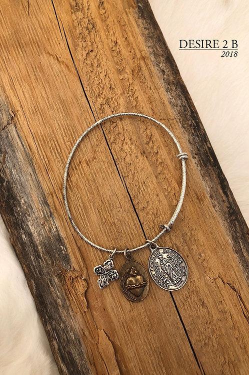 3-Charm Bracelet #1