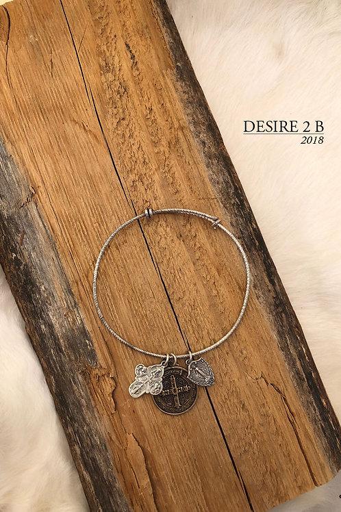 3-Charm Bracelet #6