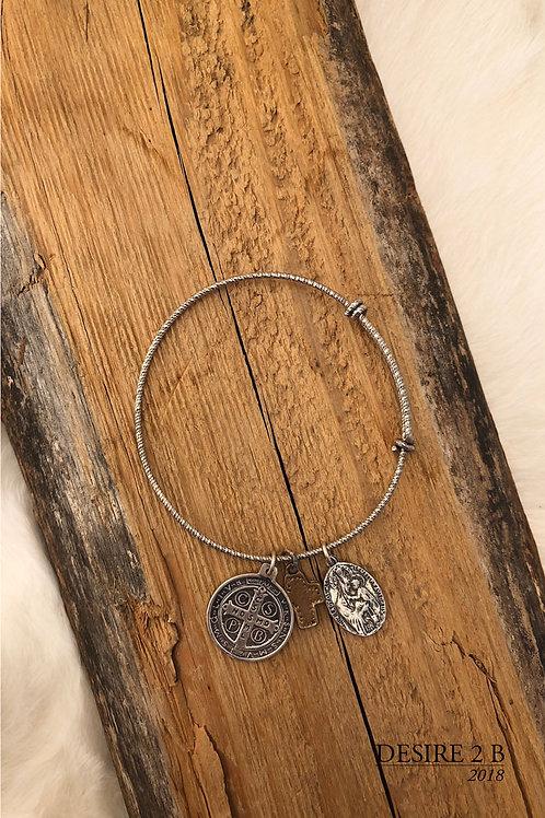 3-Charm Bracelet #10