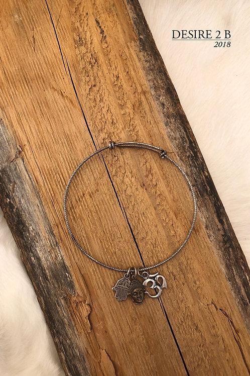 3-Charm Bracelet #5