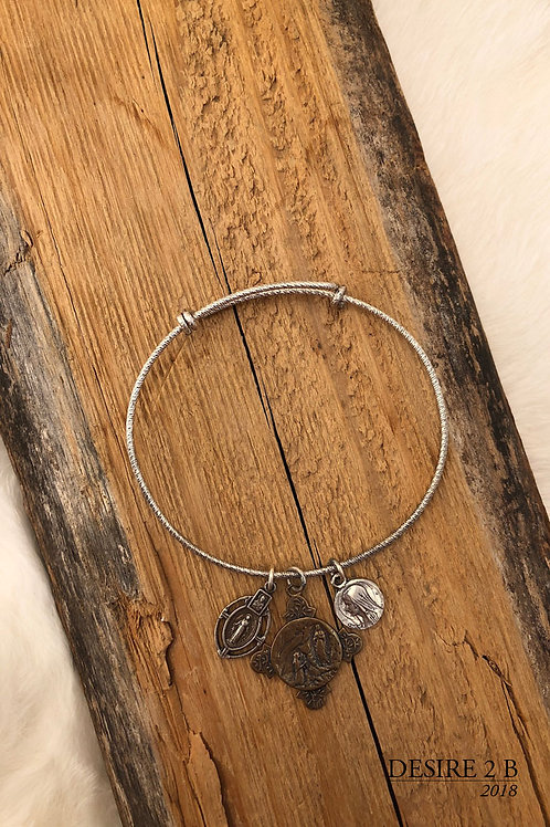 3-Charm Bracelet #8