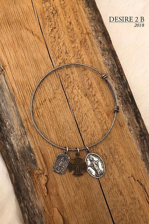 3-Charm Bracelet #3