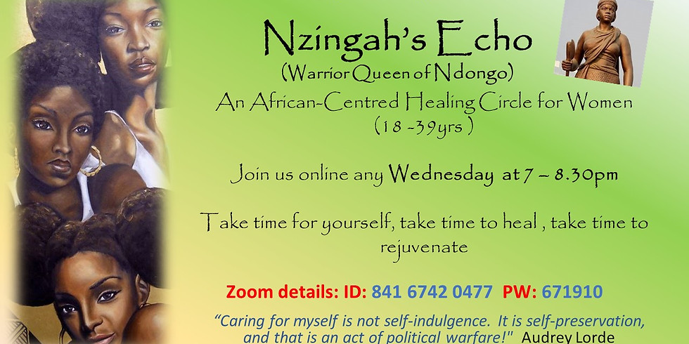 Healing Circles for Young Black Women of African and Caribbean Heritage