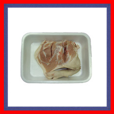 Shoulder of piglet in tray