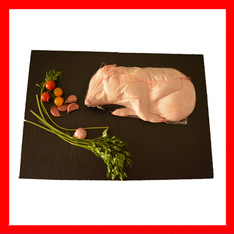Fresh entire piglet vacuum packed
