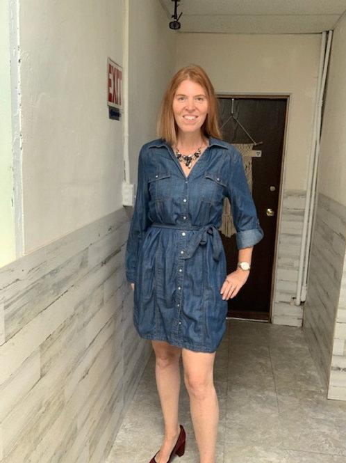 NWT INC International Concepts Jean Dress sz 12