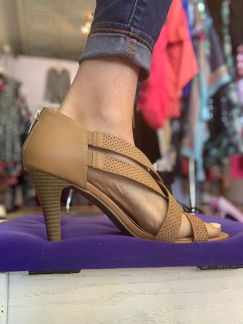 Lane Bryant Strappy Heel Sz 11