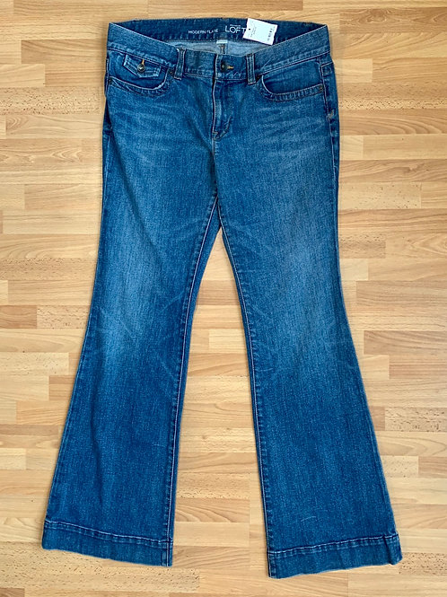Ann Taylor Flare Jeans Size 12