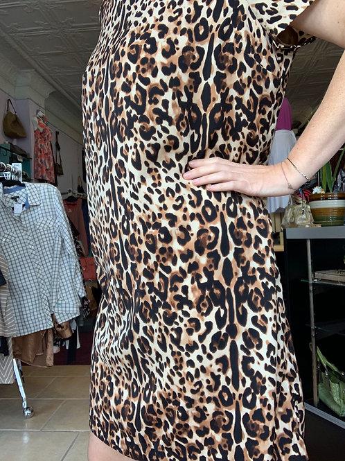 XXL Animal Print Dress