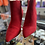 Thumbnail: A new day red heel booties size 11w