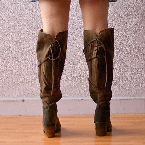 Cloud Walkers Over the Knee Boots sz 10