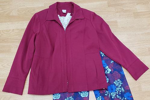 Chico's Ponte Jacket Size 3 (XL) NWT