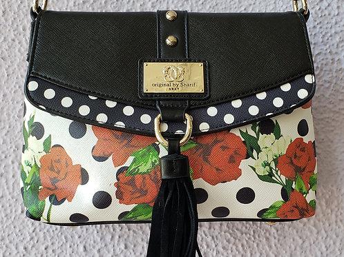Sharif Roses Crossbody NWT