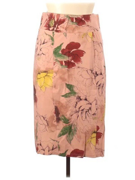 Melissa McCarthy Floral Skirt 3X