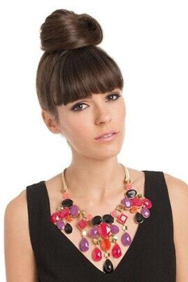 Trina Turk Drama Stone Bib Necklace