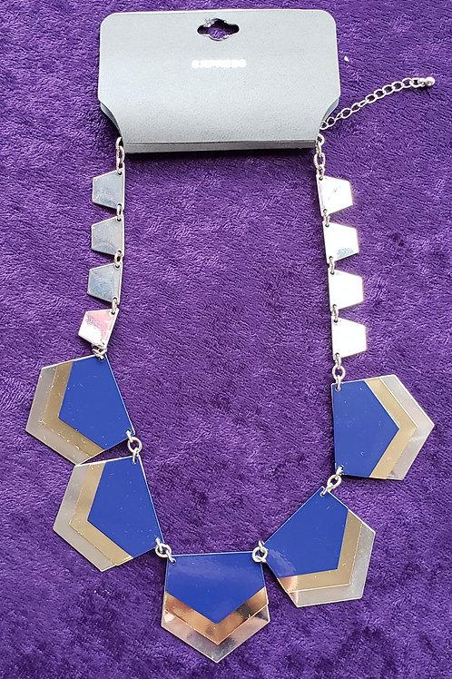 NWT Express Geometric Cutout Choker Necklace