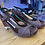 Thumbnail: Retro by Cindy open toe heels size 9