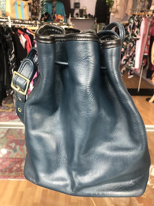 Coach Leather Bucket Bag