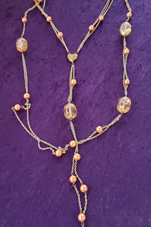 Vintage-Style Layer Necklace