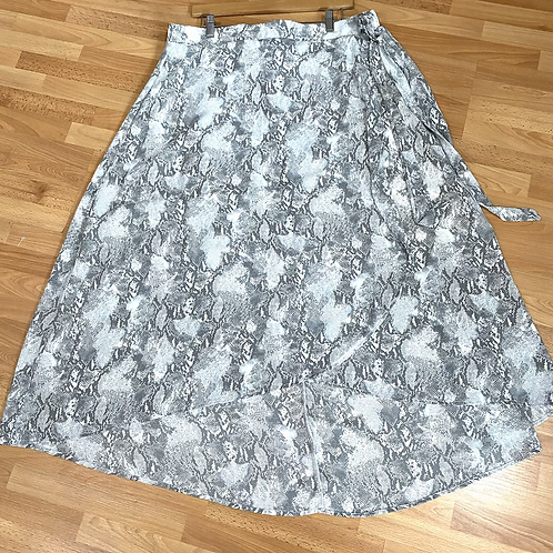 Downing high/low maxi skirt 3x