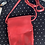 Thumbnail: ILi New York red leather crossbody