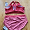 Thumbnail: Calia wide band rouge red 2pc swimsuit 1x