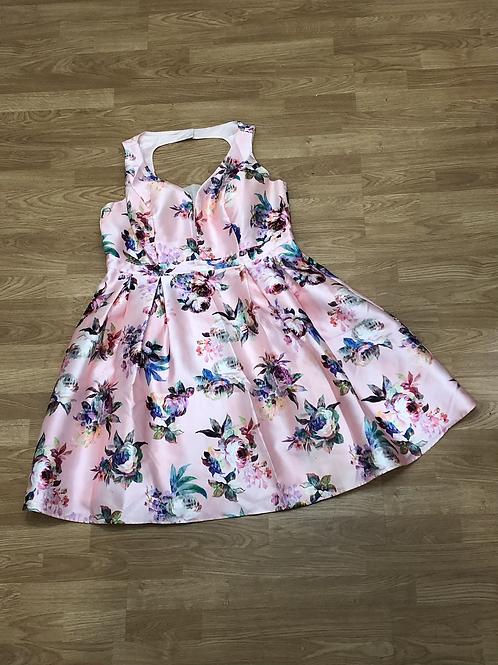 City Chic Floral Dress - sz 18