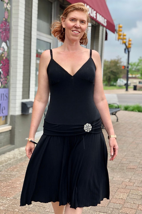 BCBG Black Dress sz L
