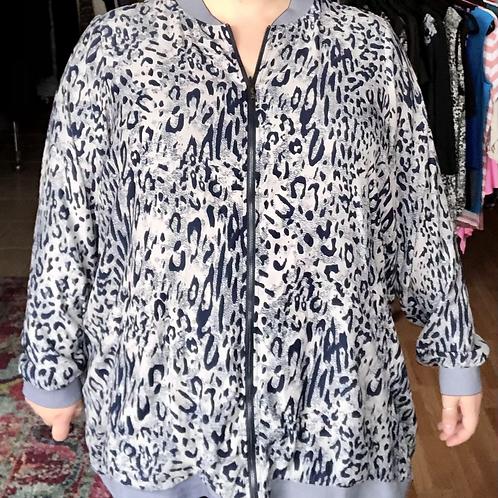 Melissa McCarthy Reversible Bomber Jacket 3x