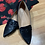 Thumbnail: Yoki floral leather flats size 9
