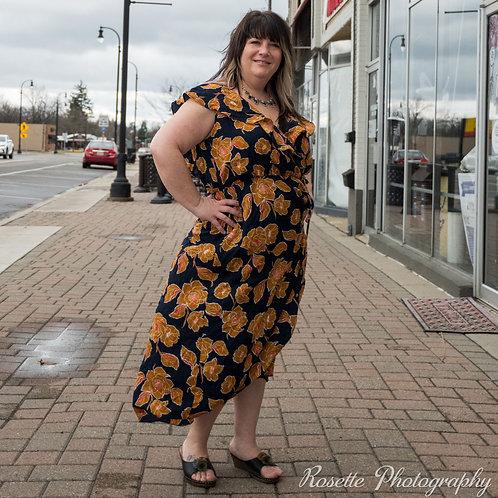 NWT Soprano Faux Wrap Dress Size 2X