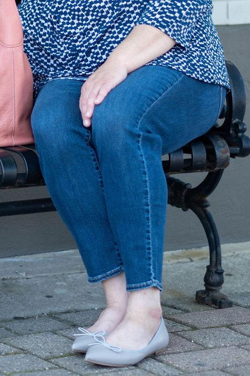 NWT Eddie Bauer Slightly Curvy Skinny Jeans Size 20