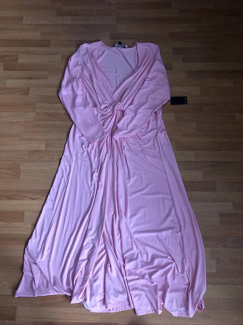 NWT Eloquii Pink Longsleeve Maxi 18
