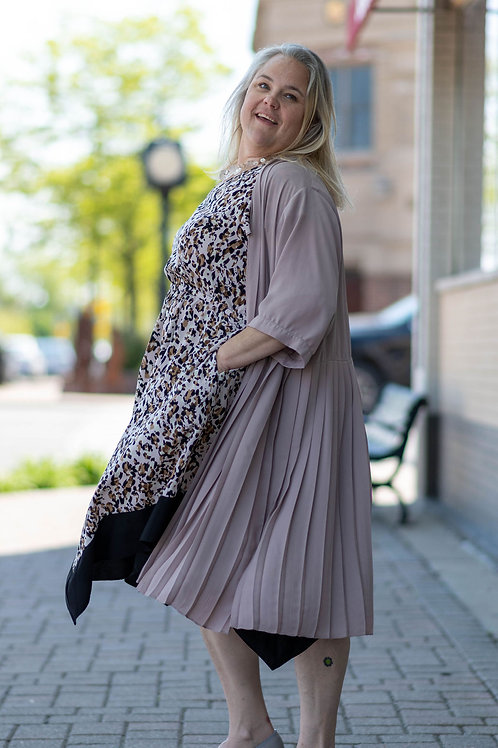 Asos Pleated Duster Size 24