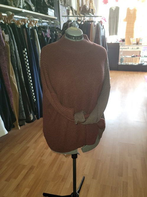 Chic Soul Ribbed Knit Sweater sz 1x