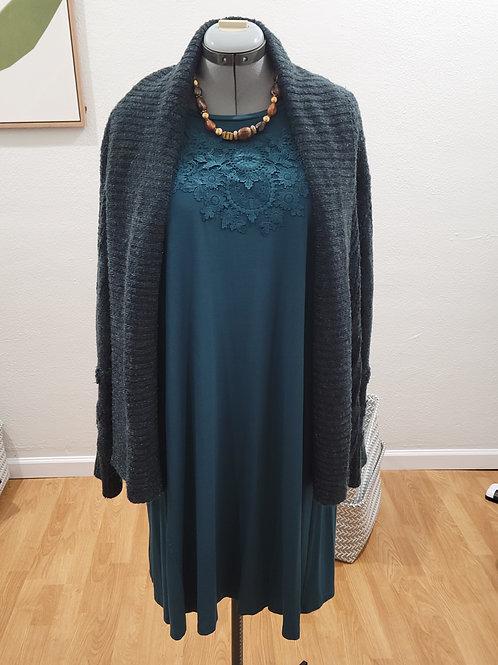 Knox Rose Open Sweater sz XL